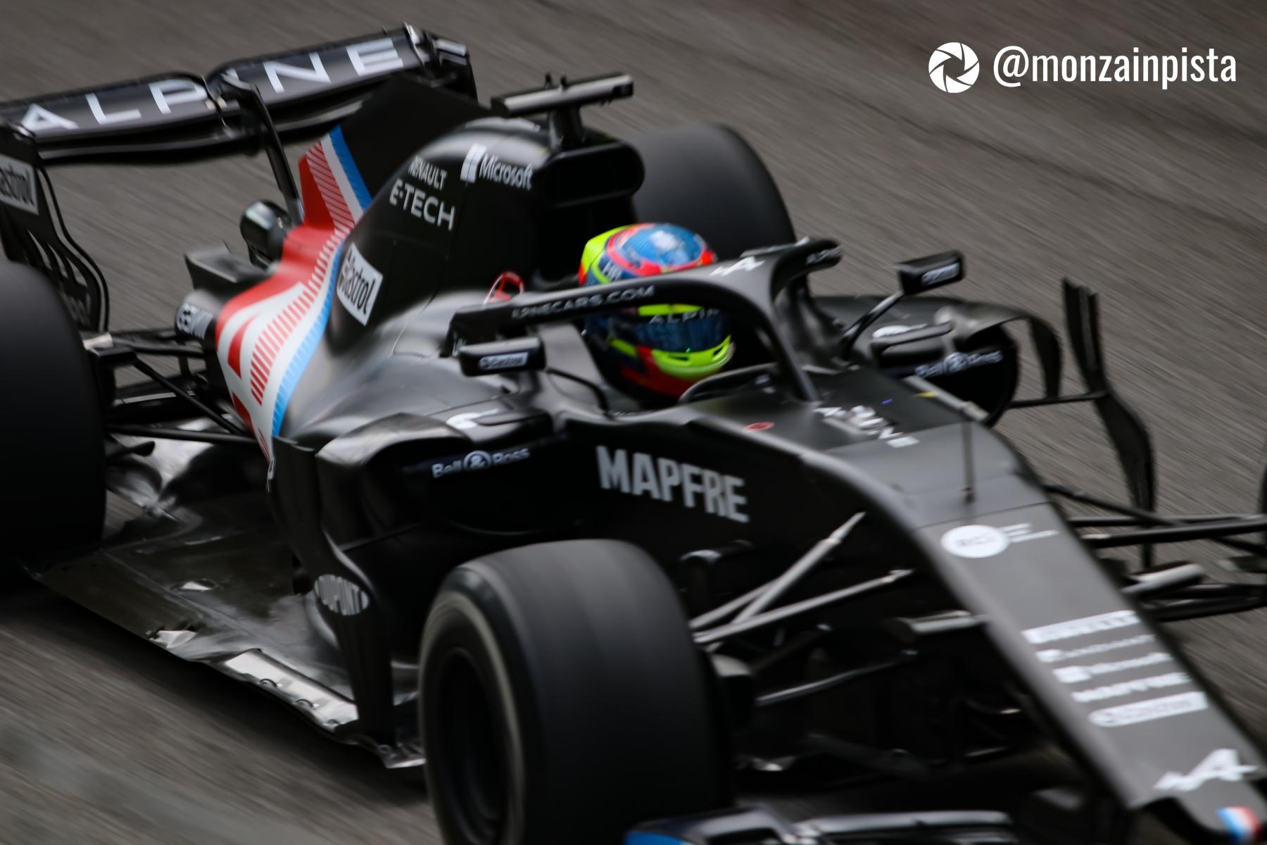 Test Alpine F1 (2 -  3 Agosto 2021)