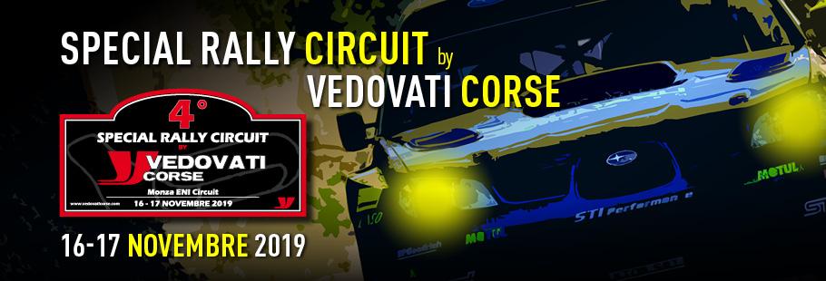 Tutto pronto per il 4° Special Rally Circuit by Vedovati Corse
