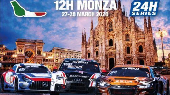 La entry list provvisoria della 12 ore di Monza