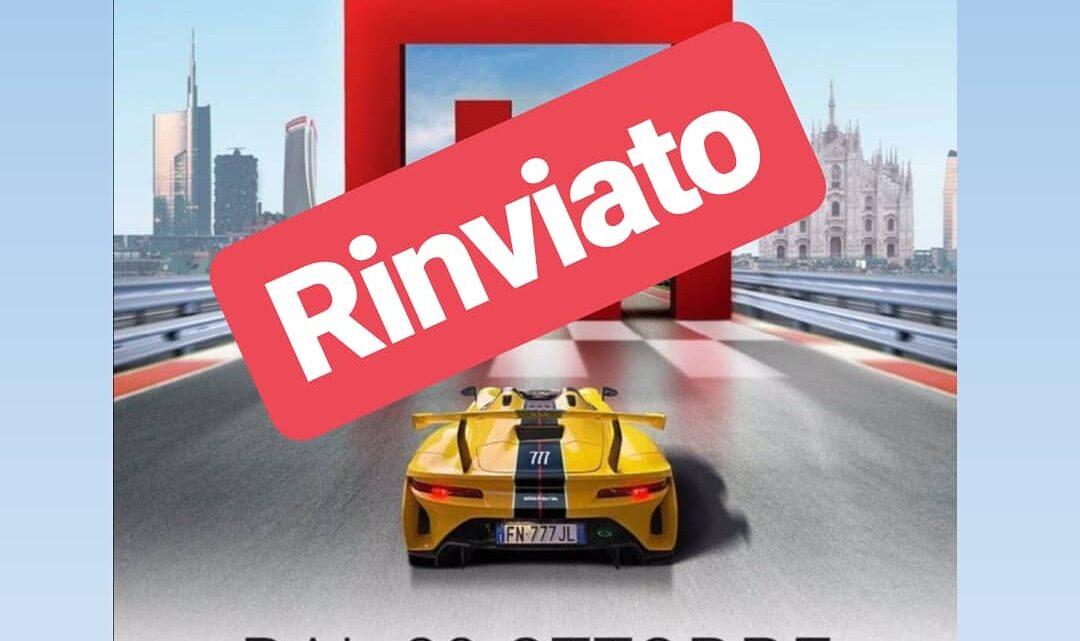 Rinviato a fine ottobre il Milano Monza Open Air Motor Show