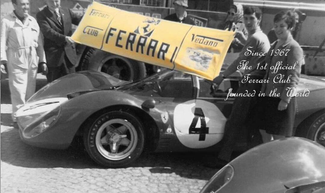 Il Ferrari Club Vedano al Lambro si presenta ai microfoni di Monzainpista