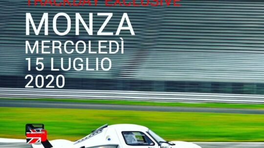 Monza, si riparte il 15 luglio con il track day serale!