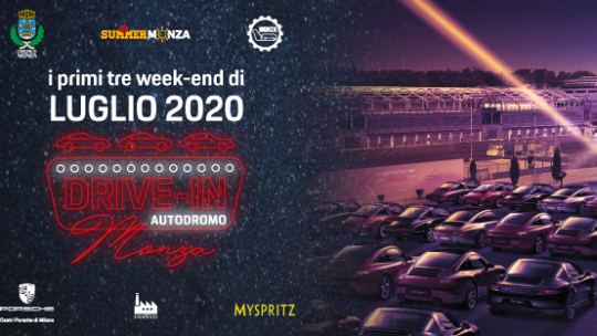 Drive in, tutti i film in programma all' Autodromo di Monza