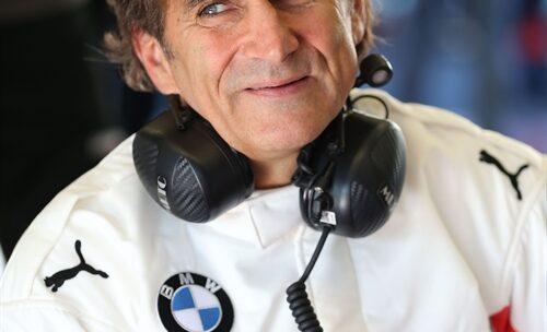 Alex Zanardi di nuovo in pista a Monza