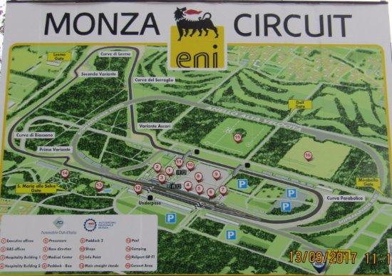 Niente gas e luce per l'autodromo di Monza nel 2020